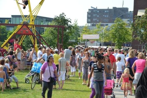 Barbecuewedstrijd bij StadshagenFestival