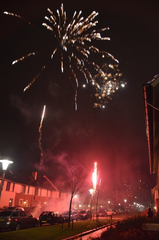 Jaarwisseling in Stadshagen met groots vuurwerk gevierd