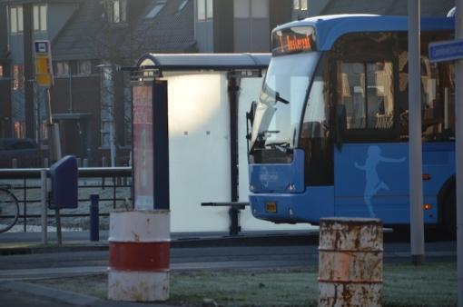 Speciale bus vanaf treinstation Stadshagen voor Deltionstudenten