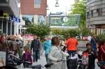 Minder hangjongeren, fietsen in winkelcentrum