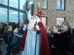 Sinterklaas bezoekt OBS De Schatkamer